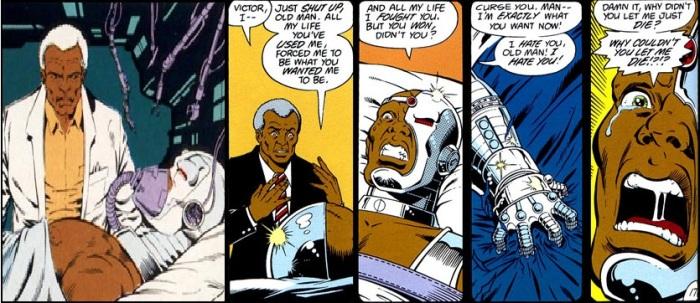 The Origin of Cyborg