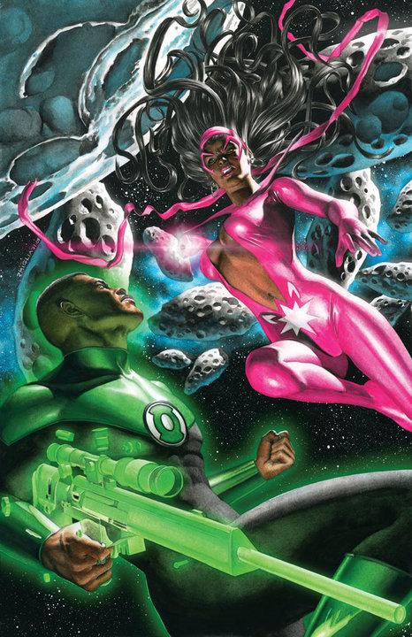 Sapphire And Green Lantern