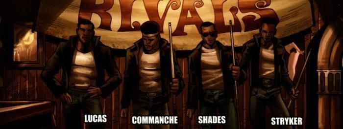 The Rivals from Shadowland: Powerman #2, Art by Mahud Asrar, story by Fred Van Lente