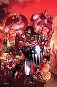 Patriot, Leader of the Young Avengers!