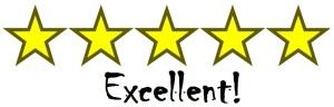 stars- 5 excellent