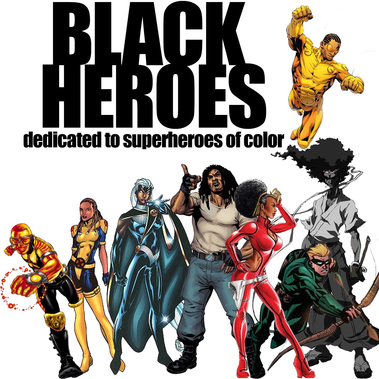 worldofblackheroes dedicated to black superhero news