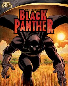 Black Panther DVD cover