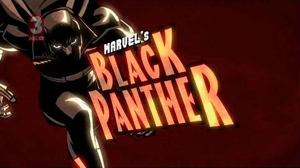 Black Panther gets animated