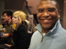 Reginald Hudlin-quite a personality :)