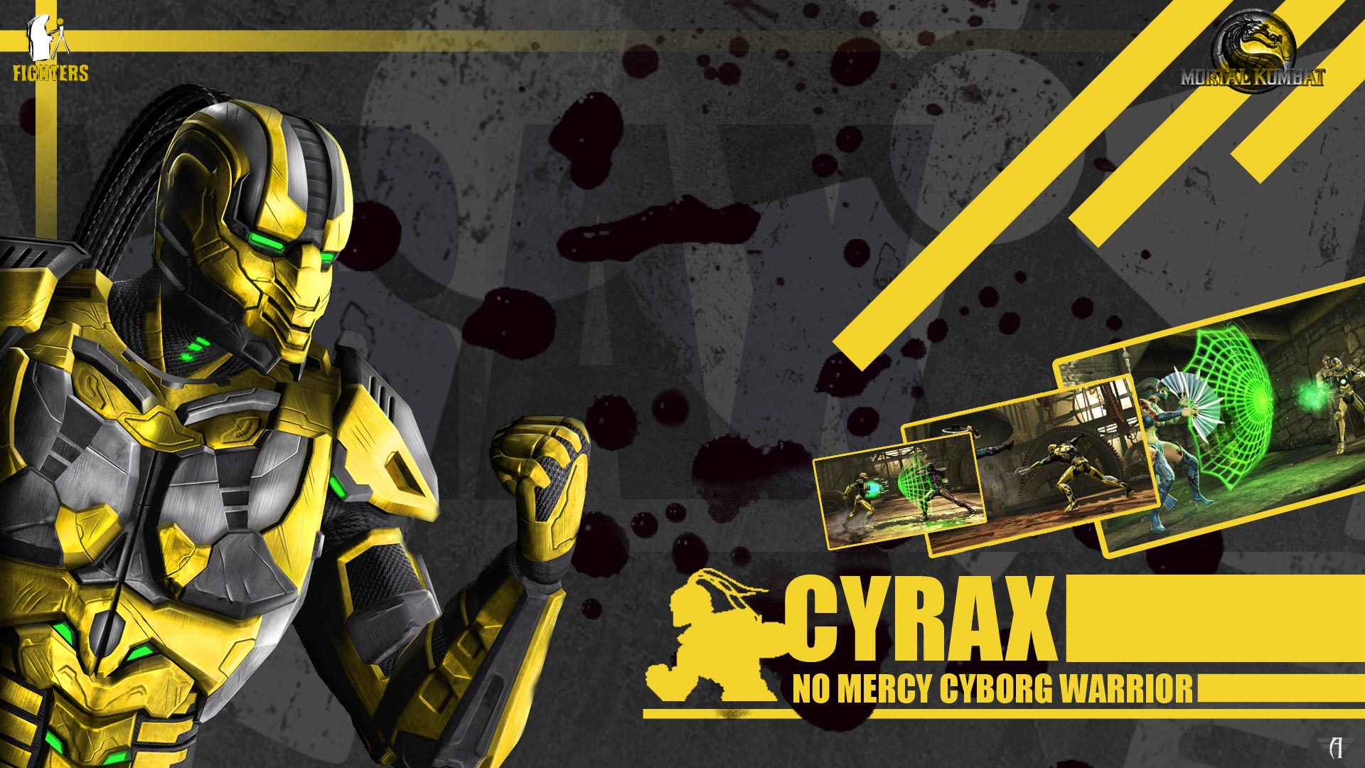Cyrax Wallpaper – Wo...