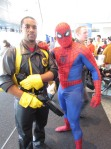 Bishop and spider-man cosplay