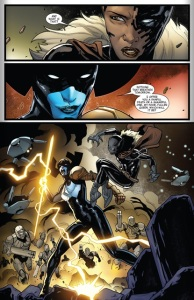 Queen Shuri faces her death like a true Warrior! from New Avengers #24, 2014