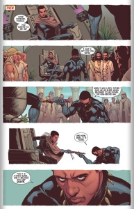 Queen Shuri from Avengers #40, 2015