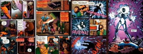 The Origin of Rapture from Freak Force vol.1 #6, by Erik Larsen