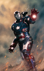 War Machine, The Iron Patriot!