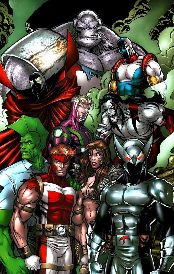 Super heroes unmasked - 5 10