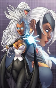 The X-men's Storm!