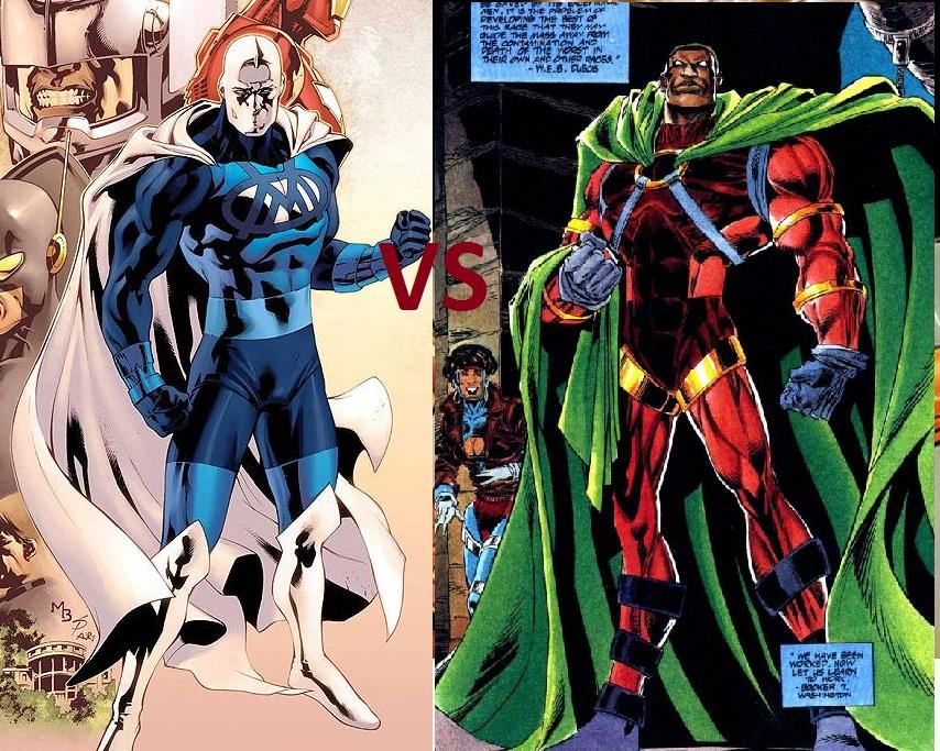 Blue Marvel vs Icon | WorldofBlackHeroes