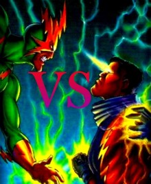 BLACK LIGHTNING VS eLEKTRO1