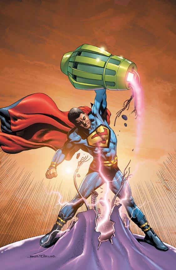 African American Superman