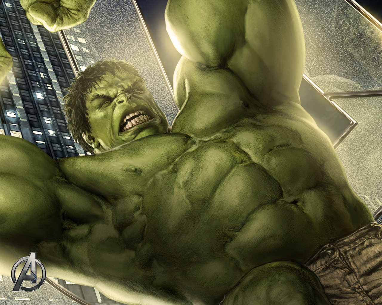 The Incredible Hulk Av...