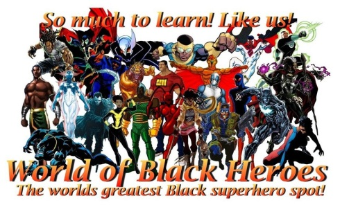 Black Superhero header