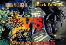 Black Panther vs Bronze Tiger