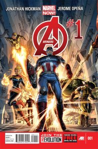 Marvel Now Avengers #1 (1)