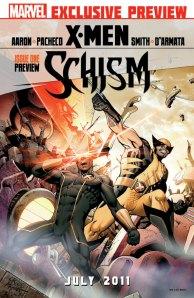 X-men Schism #1