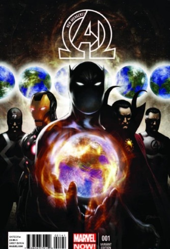 New Avengers (2013) #1 by Jonothan Hickman