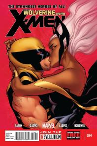 WOLVERINE AND THE X-MEN #24 cover