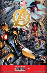 Avengers 2013 #3- By Jonathan Hickman