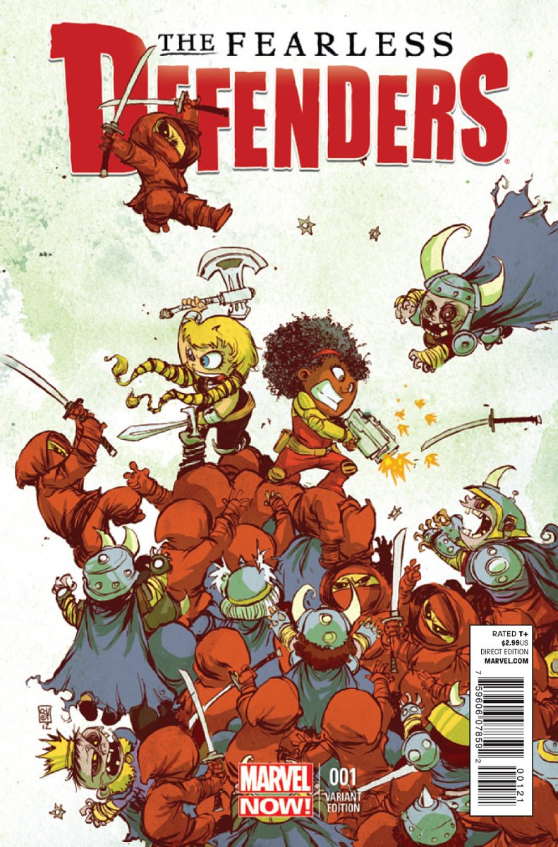 The Fearless Defenders #1 (2)