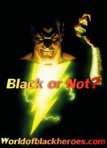 black or not- Black Adam