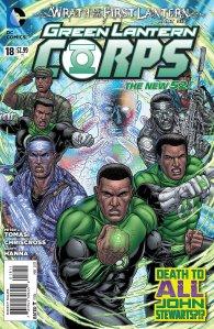 Green Lantern Corps #18 (1)