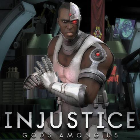 Injustice gods among us-New Cyborg Skin
