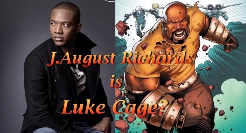 J August Richards Luke Cage