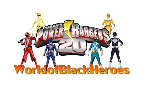 Black Power Ranger Header