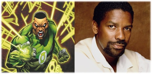 Green Lantern Denzel Washington 1