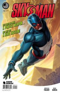 Skyman#1 Cover