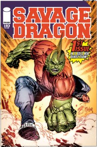 Savagedragon#193 cover