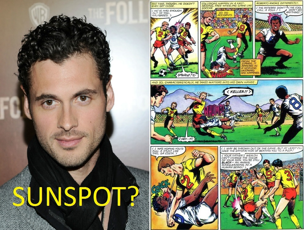 black single men in sunspot Sunspot served as the black rook,  in a battle with the x-men, sunspot is injured when wolf cub slashed his  this edit will also create new pages on comic vine for.