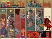 Death of Emmanuel Da Costa from New Mutants #98