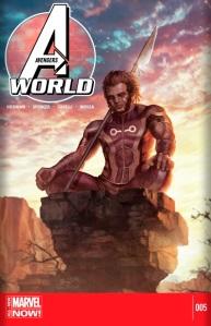 Avengersworld#5 cover