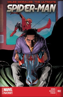 MILES MORALES ULTIMATE SPIDER-MAN #2 cover