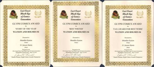 watson and holmes awards