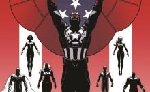 Captain America and the Mighty Avengers Luke Ross Cover