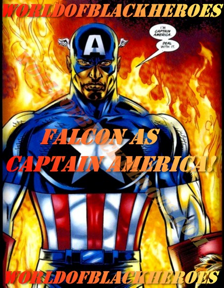 Falcon as Captain America