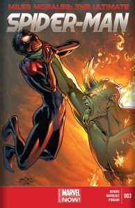 Miles Morales The Ultimate Spider-man #3 cover