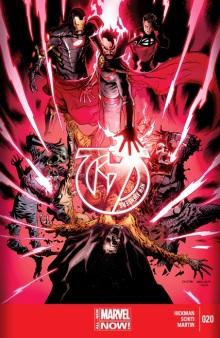 New Avengers #20 cover