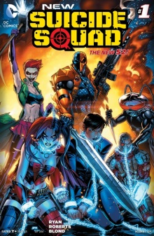 New Suicide Squad #1 cover