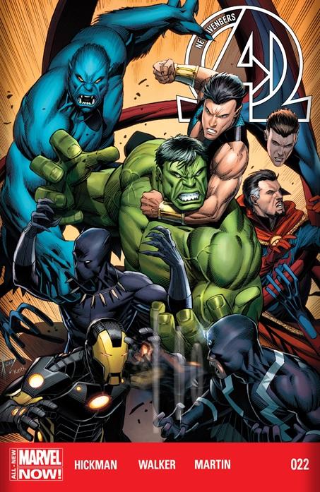 New Avengers 2013 #22 cover
