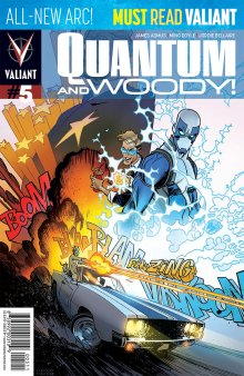 QUANTUM AND WOODY (2018) #5