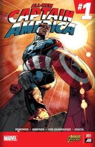 All new Captain America #1 1